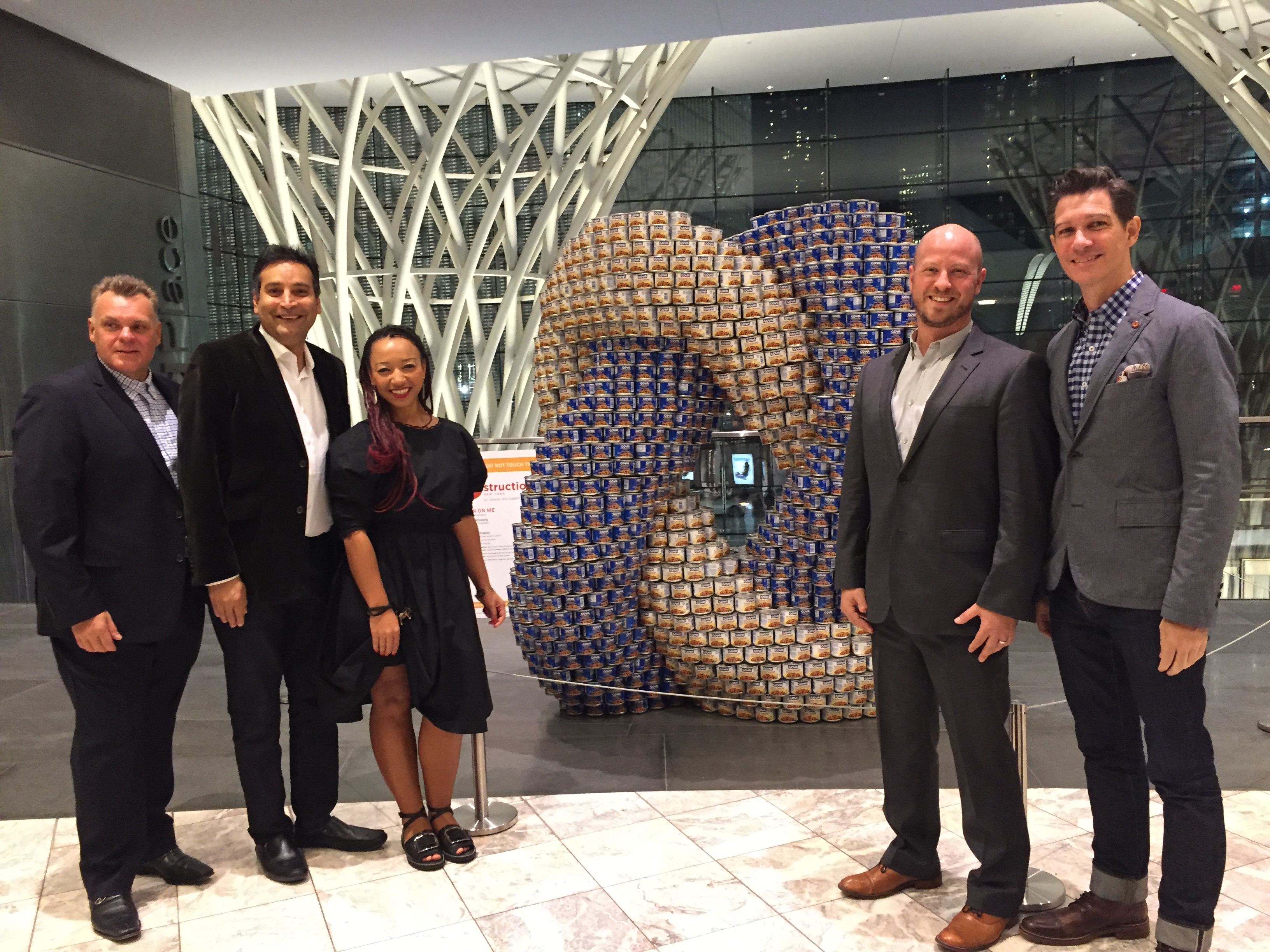 2016 Canstruction New York Jurors